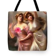 With A Rose Tote Bag