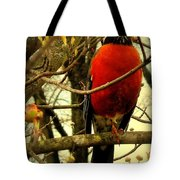 With A Song In My Heart Tote Bag