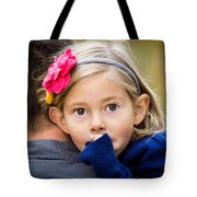 With Dad - Color Tote Bag