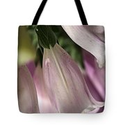 With Foxglove Tote Bag