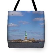 With Liberty... Tote Bag
