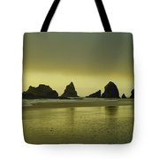 With The Ease Of A Sun Ray Tote Bag