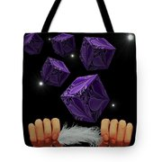 With The Lightest Touch Tote Bag