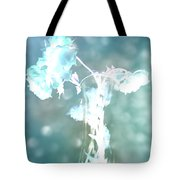 Withering Away - Aqua Sparkle Tote Bag