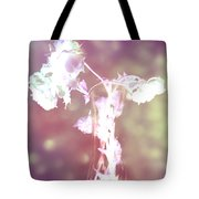 Withering Away - Magenta Sparkle Tote Bag
