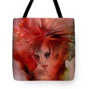 Within A Glass Heart Tote Bag