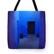 Within Bue Walls Tote Bag