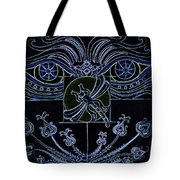 Within The Darkness Tote Bag