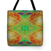 Within You Without You Mosaic Tote Bag