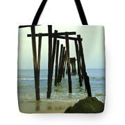 Without Pier Tote Bag