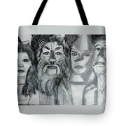 Wizard Of Oz Friends Tote Bag