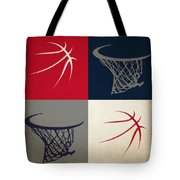 Wizards Ball And Hoop Tote Bag