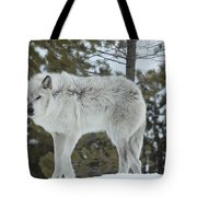 Wolf - Nervous Tote Bag