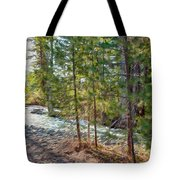 Wolf Creek Stretching Out Tote Bag