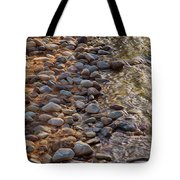 Wolf Creek Upstream Tote Bag by Omaste Witkowski