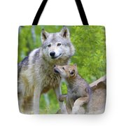 Wolf Of Minnesota Tote Bag