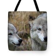 Wolf Glare II Tote Bag