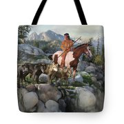 Wolf Maiden Tote Bag