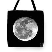 Wolf Moon Waning Tote Bag by Al Powell Photography USA