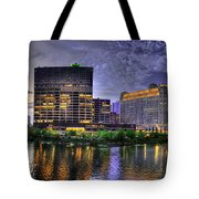 Wolf Point Panorama Tote Bag