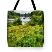 Wolf River Tote Bag