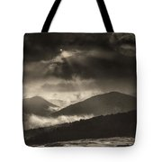Wolf Rock At Stone Mountain State Park  Tote Bag