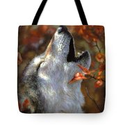 Wolf Song Tote Bag