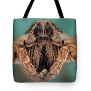Wolf Spider 5x Tote Bag