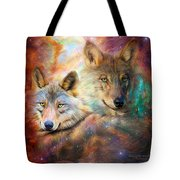 Wolf - Spirit Of The Universe Tote Bag