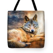 Wolf - Spirit Of Truth Tote Bag