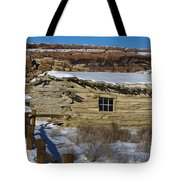 Wolfe Ranch Cabin Arches National Park Utah Tote Bag