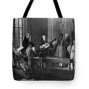 Wolfgang Amadeus Mozart (1756-1791) Tote Bag
