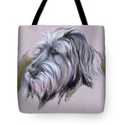 Wolfhound Portrait Tote Bag