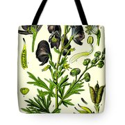 Wolfsbane Tote Bag by Georgia Fowler