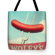 Wolfy's In Chicago Tote Bag