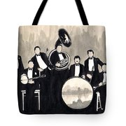 Wolverines B And W Tote Bag
