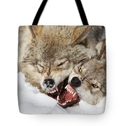Wolves Rules Tote Bag