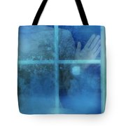 Woman At A Window Tote Bag