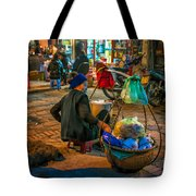 Woman At Rest Tote Bag