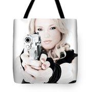 Woman Defense Tote Bag