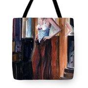 Woman Dressed Tote Bag