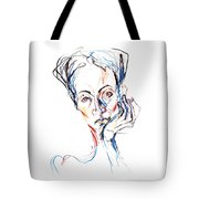 Woman Expression Tote Bag