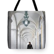 Woman In Archway  Tote Bag