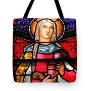 Woman In Braids Tote Bag