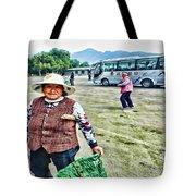 Woman In China Tote Bag