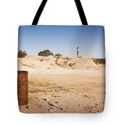 Woman In Landscape Tote Bag