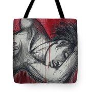 Woman In Love 2 - Female Nude Tote Bag