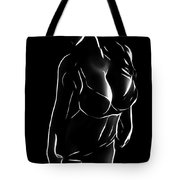 Woman In The Dark Tote Bag