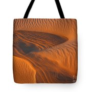 Woman In The Dunes Tote Bag