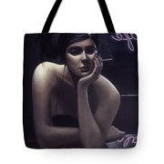 Woman Left Lonely Tote Bag